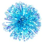 Blue iridescent jellyfish self-adhesive bow