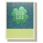 Jamboree good luck clover card