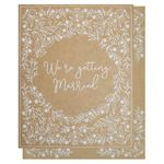 Kraft wedding invitations bumper pack