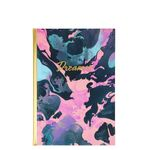 A5 marble dreamer notebook