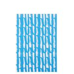 Blue squiggle bound notebook