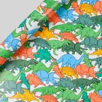 Dinosaur herd wrapping paper - 5m