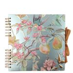 Floral pear medium scrapbook