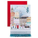 Musical London scene birthday card
