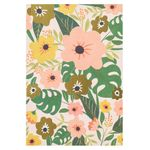 Tropical flowers note cards