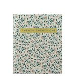 Square Traditional Floral 2021 diary