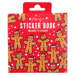 Gingerbread present sticker book