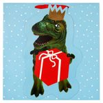 Christmas dino XL gift bag