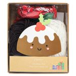 Christmas Pud Pom Pom Bauble Kit