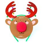 Reindeer Headband and Nose