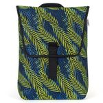 Pijama mini blue & green palm backpack