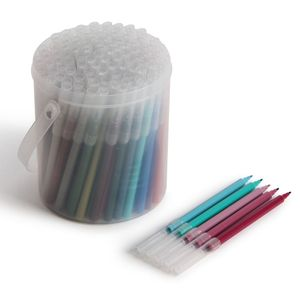 Fibre tip pens in a tub - set of 100