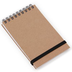 Brown Kraft A7 lined notebook