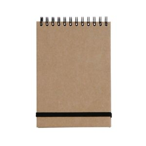 Brown Kraft A6 reporter notepad