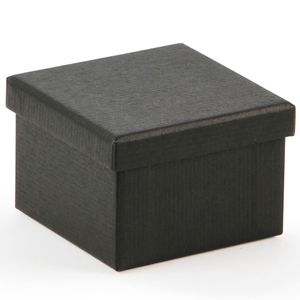 Black kraft small gift box