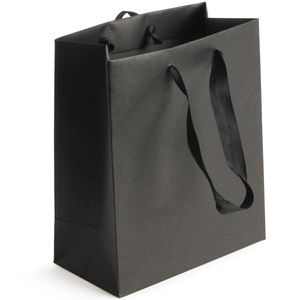 Black Kraft medium gift bags – pack of 20
