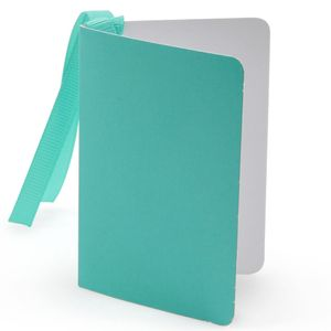 Turquoise gloss gift tag