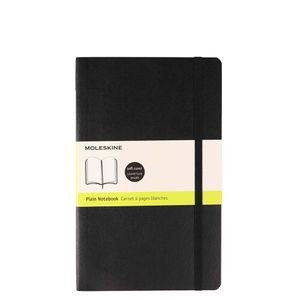 Moleskine Soft cover black plain notebook