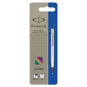 Parker blue ink roller ball refill