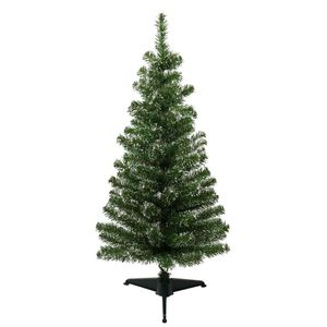 3ft Snow tipped green Christmas tree