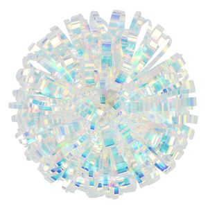 Iridescent jellyfish medium self-adhesive bow