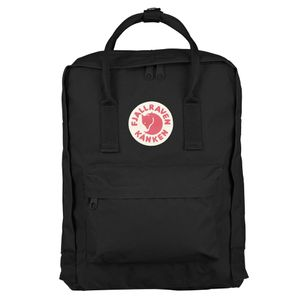 Fjällräven Kånken black backpack