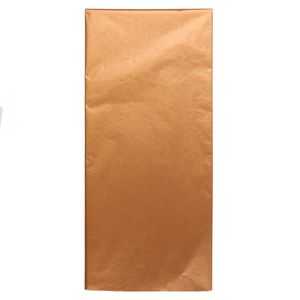 Bronze tissue paper - 3 sheets