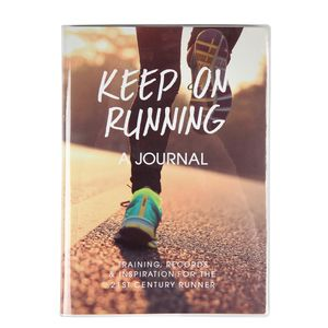 Keep on running fitness journal