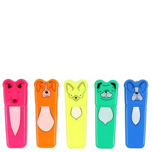 5 mini dog highlighters