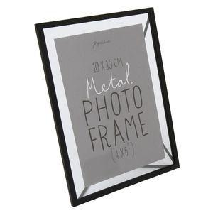 Vasto black photo frame 4x6