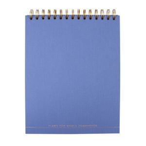 World domination 8x10 reporter notepad