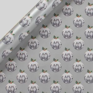 Disco puddings Christmas wrapping paper - 3m