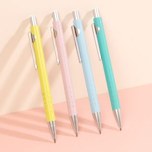 Soft-touch ballpoint pens - set of 4