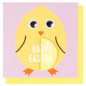 Honeycomb chick Easter card