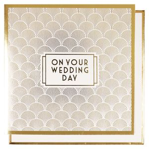 Deco on your Wedding day card