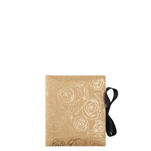 Gold rose kraft small slip-in photo album