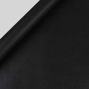 Kraft matte black wrapping paper - 3 m