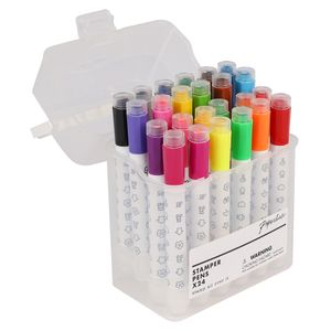 Stamp felt tip pens - pack of 24