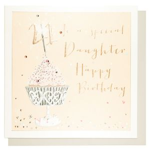 Luxe daughter 21st birthday card