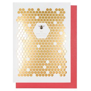 Bee-long together Valentine's Day card