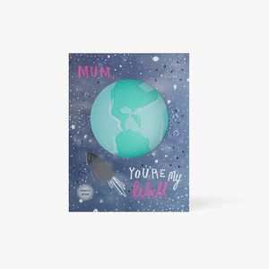 Light up world Mother's Day card