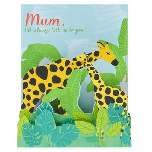Look up to you pop up Mother's day card