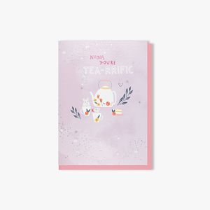 Tea-rrific Nan Mother's day card