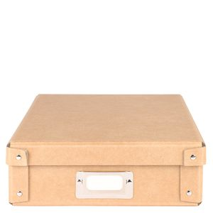 Kraft A4 studded stationery box