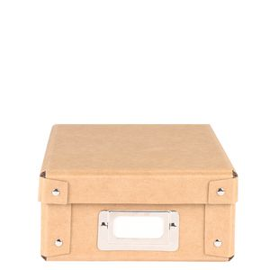 Kraft A5 studded stationery box