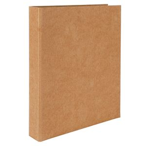 Brown Kraft A4 ring binder