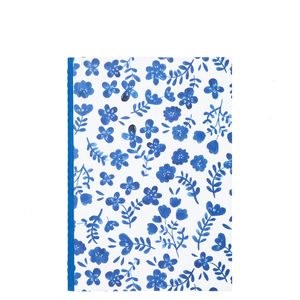 Hana A5 floral fabric notebook