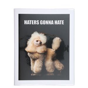 Plastic haters gonna hate notebook