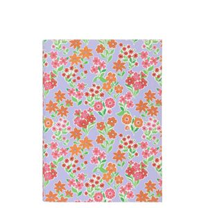 A5 flexi lilac floral notebook