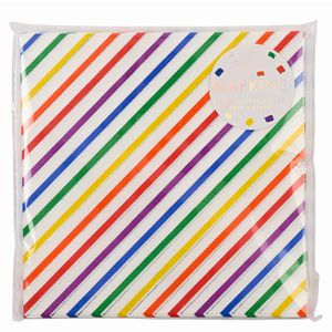 Ginger Ray for Paperchase rainbow napkins